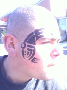 Tribal Tattoo Facepainting