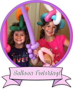 Balloon Twisting page badge